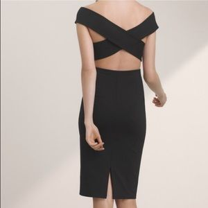 Aritzia Talula Varndell Cross Back Dress Sz S